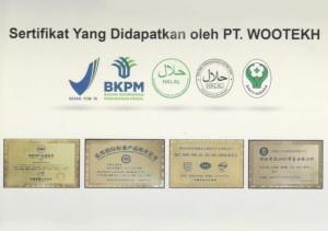 sertifikat PT WOOTEKH